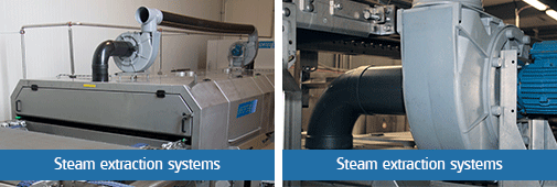 unifortes steam extraction systems