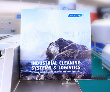 industrial cleaning systems and logistics
